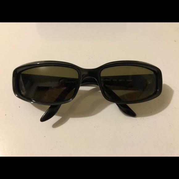 "Vintage Gucci ""2454/S"" Black Sunglasses"